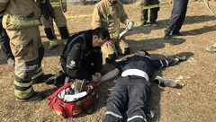 نجات سه مرد جوشکار از اعماق چاه ده متری در سردار جنگل