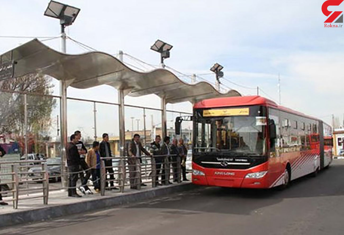بازداشت راننده اتوبوس «بیآرتی» تهران بعد از زیر گرفتن یک مسافر