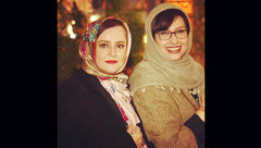 دوستی 24 ساله 2 بازیگر زن ایرانی+عکس