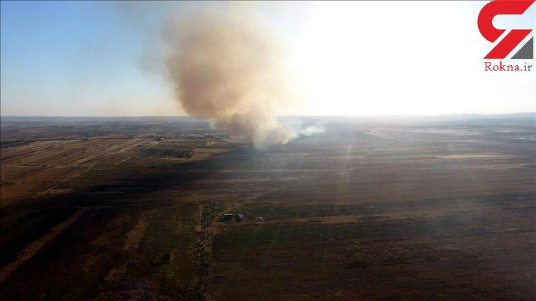 آتش زدن و غارت خانه ها در تل رفعت توسط پ.ک.ک/پ.ی.د