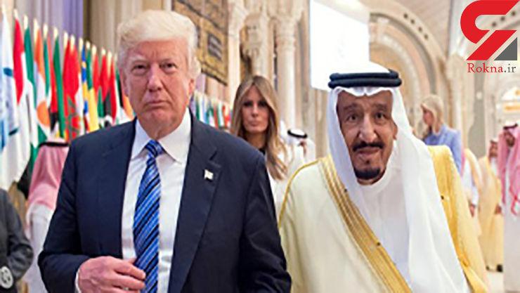 ترامپ: ملک سلمان! اگر ما نباشیم ایران دو هفتهای عربستان را میگیرد