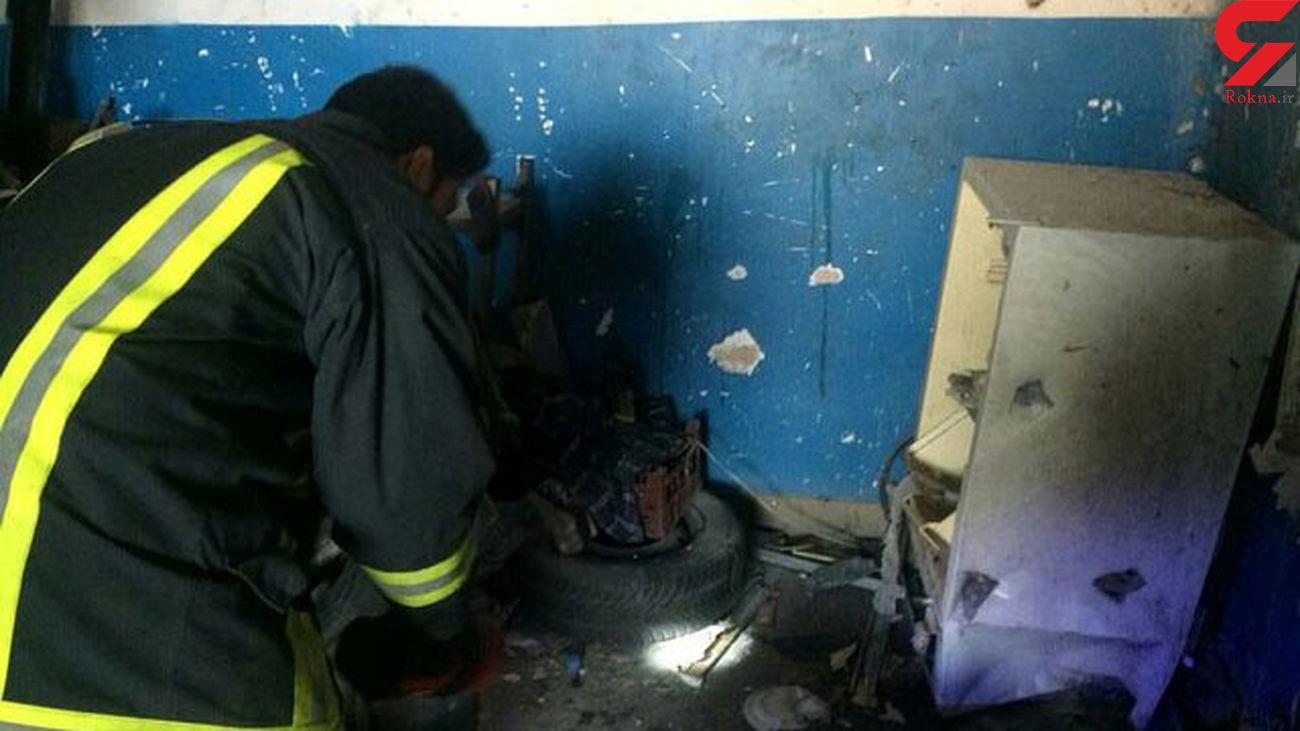 انفجار مرگبار کپسول گاز در شیراز