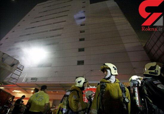 آتش سوزی هتلی در بانکوک / تعدادی ایرانی در این هتل اقامت داشتند+ عکس