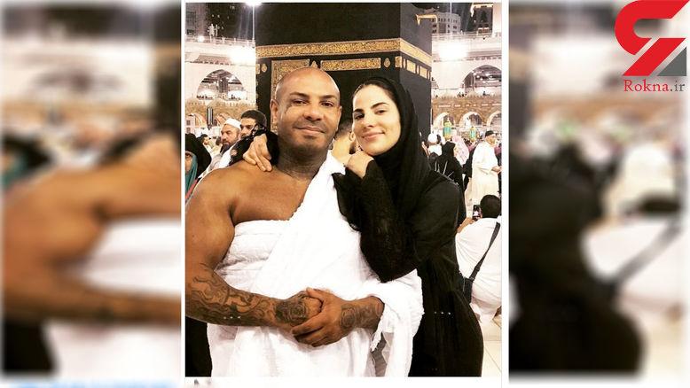 خشم گسترده از حضور دختر رئیس جمهور سابق و همسر خالکوبی شده اش در مکه+ عکس