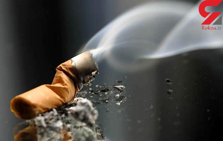 تاثیر  دود سیگار بر بینایی