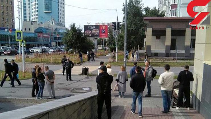 حمله یک فرد با چاقو در روسیه/ ۸ نفر زخمی شدند