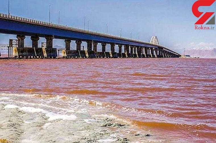 آب دریاچه ارومیه 3 برابر شد