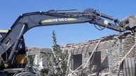 تخریب ۴ ساخت و ساز غیرمجاز در گرگان