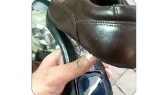 فیلم جاسازی GPS در کفش همسر جنجالی شد+عکس