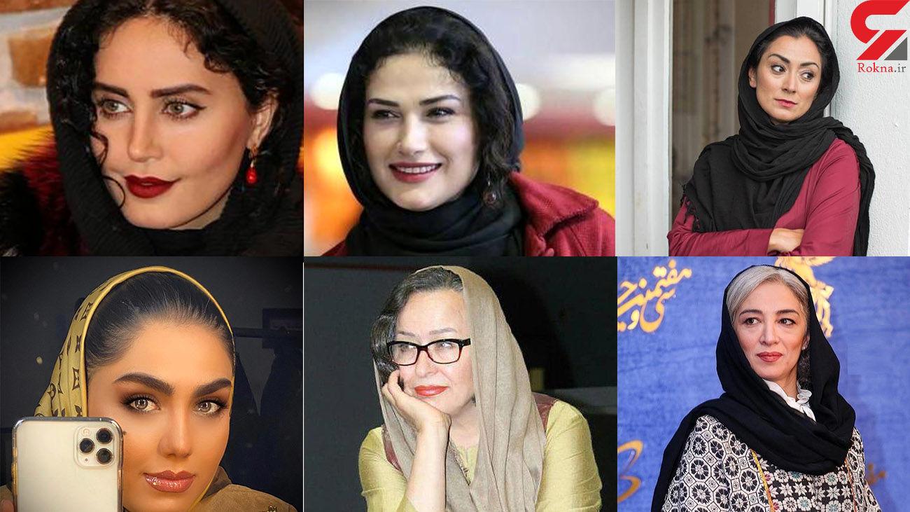 این خانم بازیگر هایی ایرانی چقدر زشت شدند !+ عکس