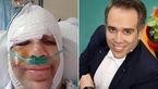 امیر کربلایی زاده بازیگر معروف تلویزیون ، سینما و تئاتر در تصادفی وحشتناک مصدوم شد + عکس بیمارستان
