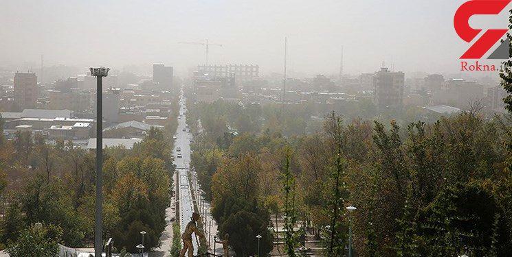 کاهش آلودگی هوای تهران نسبت به روز گذشته