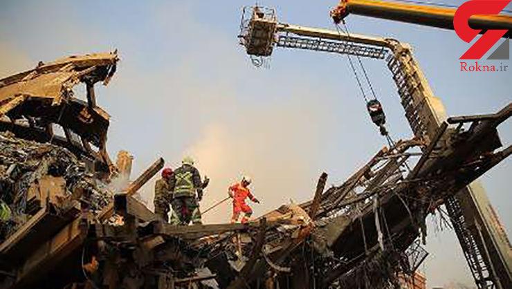 یک آتش نشان: پیدا شدن فرد زنده در پلاسکو شایعه است/ عملیات به مرحله نخاله برداری رسید