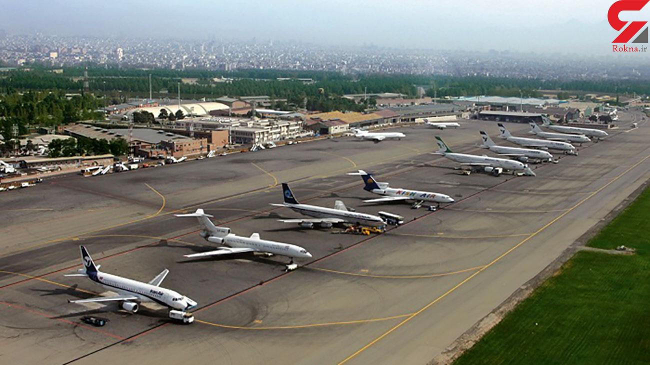 کاهش ۲۸ درصدی جابجایی مسافر در فرودگاه مهرآباد