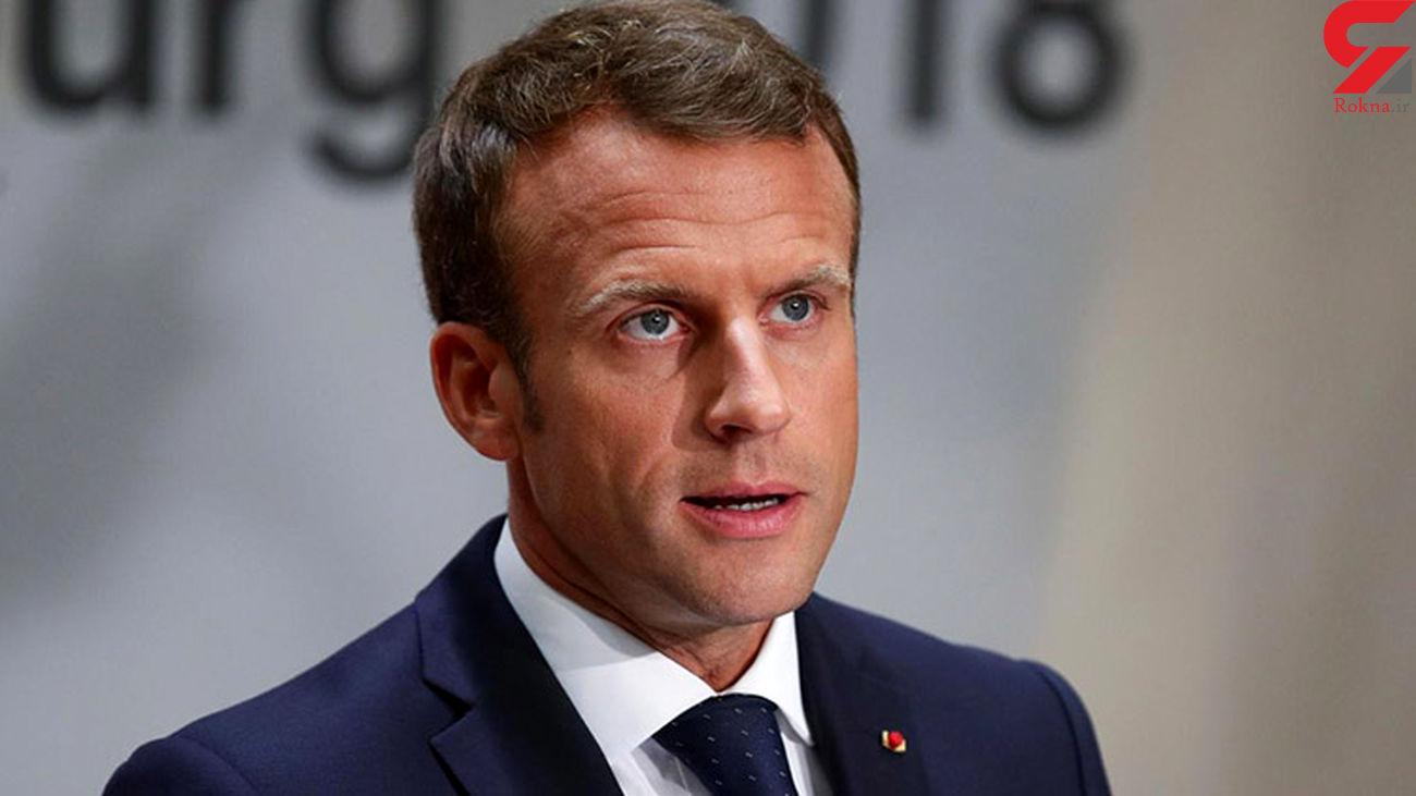 مکرون: فرانسه با هیچ مذهبی مشکل ندارد