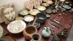 کشف اشیای عتیقه متعلق به عصر آهن در زنجان