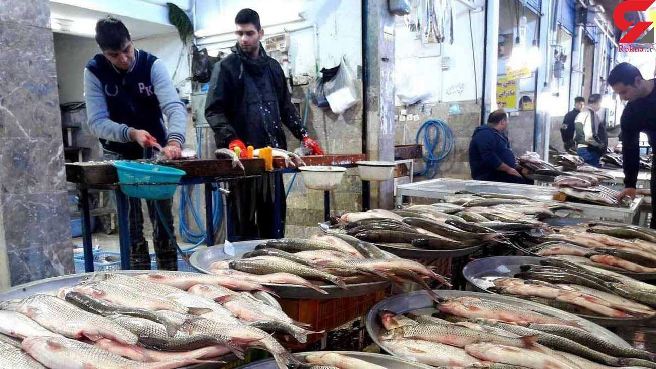 قیمت انواع ماهی در مقایسه با قیمت مرغ و گوشت