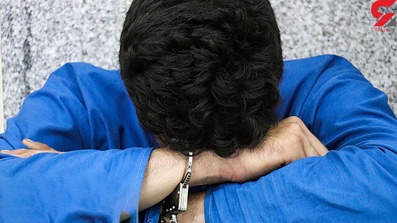 """دستگیری سارق حین اوراق کردن خودرو در """"اهواز"""""""