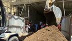 ریزش مرگبار چاه در زاهدان + تصاویر