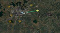 هواپیمای جدیدالورود بوئینگ سقوط کرد / 157 مسافر خارجی  کشته شدند + نقشه سقوط