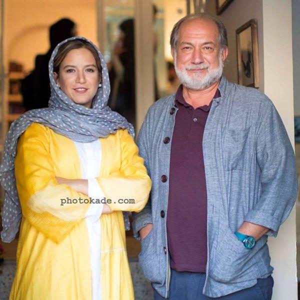 عکس ستاره پسیانی و پدرش آتیلا پسیانی Setareh Pesyani