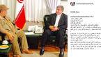 بازیگر معروف ایرانی رئیس جمهور را نصیحت کرد! +عکس