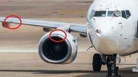 سقوط مرگبار هواپیما بوئینگ 737 به دلیل برخورد پرنده+ عکس