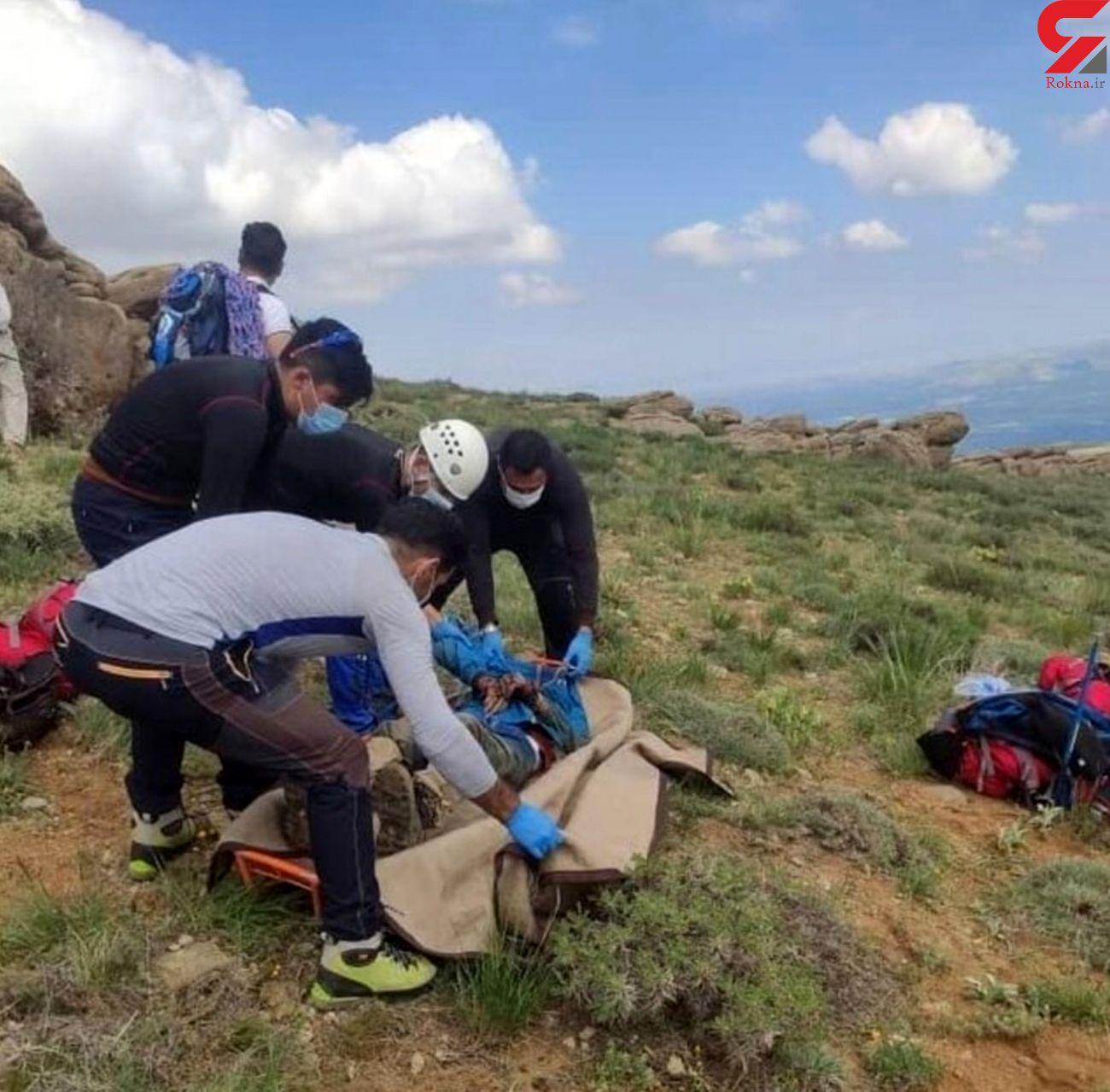 پیکر بی جان کوهنورد را در ارتفاعات کوه سیر پیدا کردند.