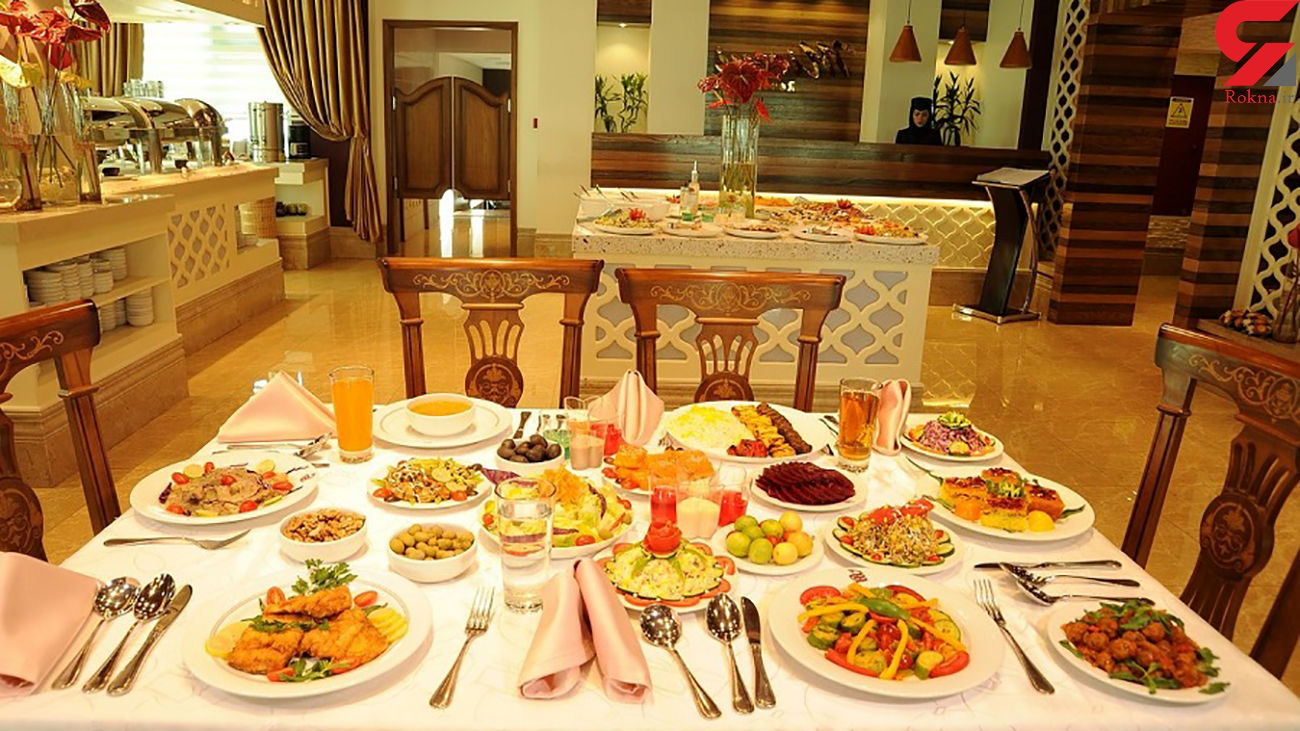 قیمت غذای رستوران ها ۳۰ درصد افزایش یافت