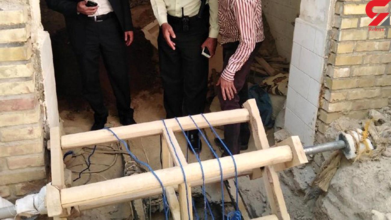 دستگیری 3  حفار غیر مجاز آثار تاریخی در نیشابور