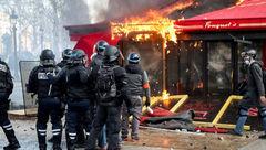 مجوز شلیک آزاد برای پلیس فرانسه / به سوی معترضان شلیک کنید + عکس