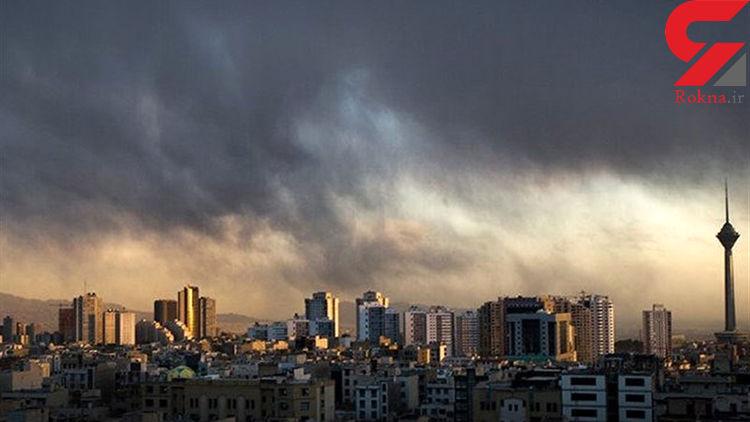 افزایش موقتی ازن در هوای تهران
