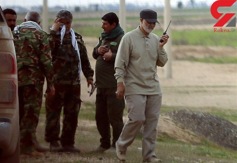 رمز و رازهایی از کابوس زنده تروریست ها/چرا سردار سلیمانی روی لباسش اتیکت ندارد؟