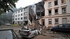 وقوع انفجار شهر ووپرتال آلمان+ عکس