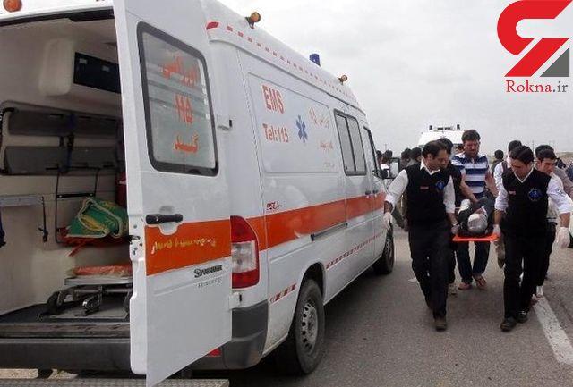 واژگونی اتوبوس کاشمر به یزد در محور طبس به تپه طاق