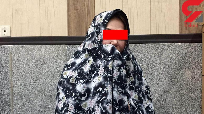 اولین عکس از زن پلیدی که باران کوچولو را دزدید /  او یک زن پولدار است !