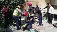 سقوط عجیب جوان اصفهانی به چاه 15 متری در خانه + عکس ها