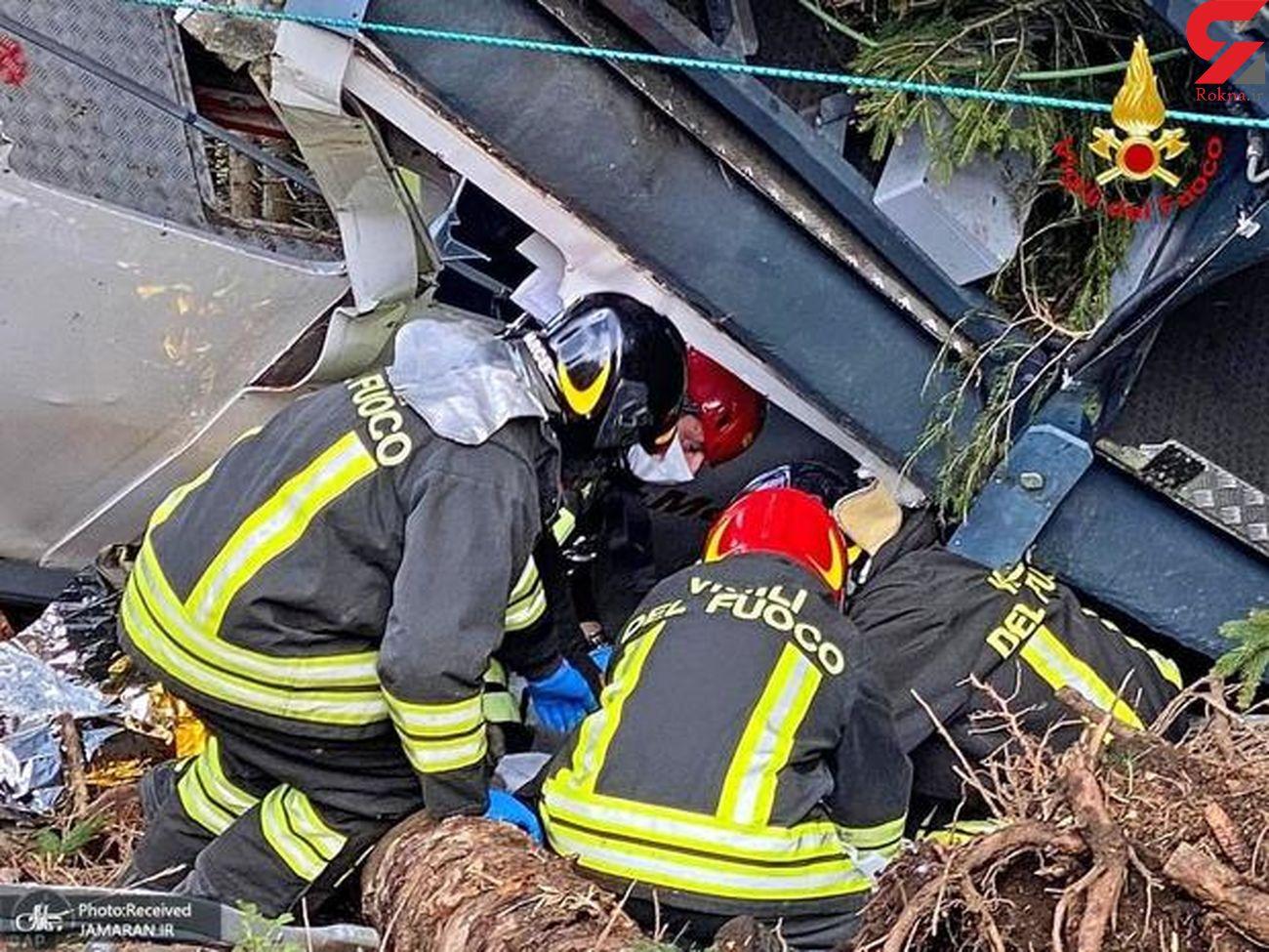 بازداشت 3 نفر در پرونده سقوط مرگبار تله کابین در ایتالیا