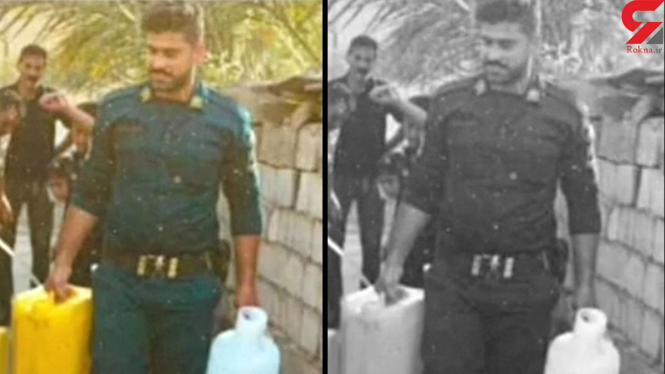 هموطن نزن / فیلم از آبرسانی پلیس شهید در خوزستان