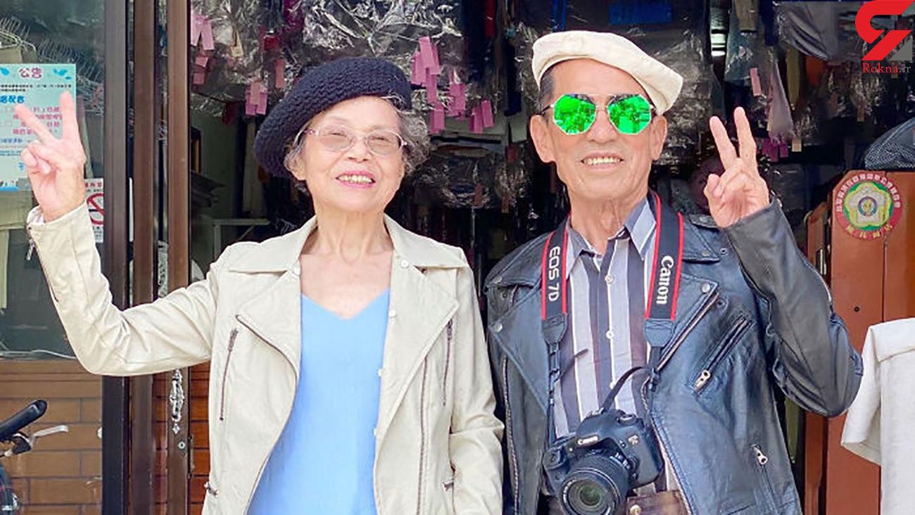 زوج مسنی که مدل اینستاگرامی شدند + عکس