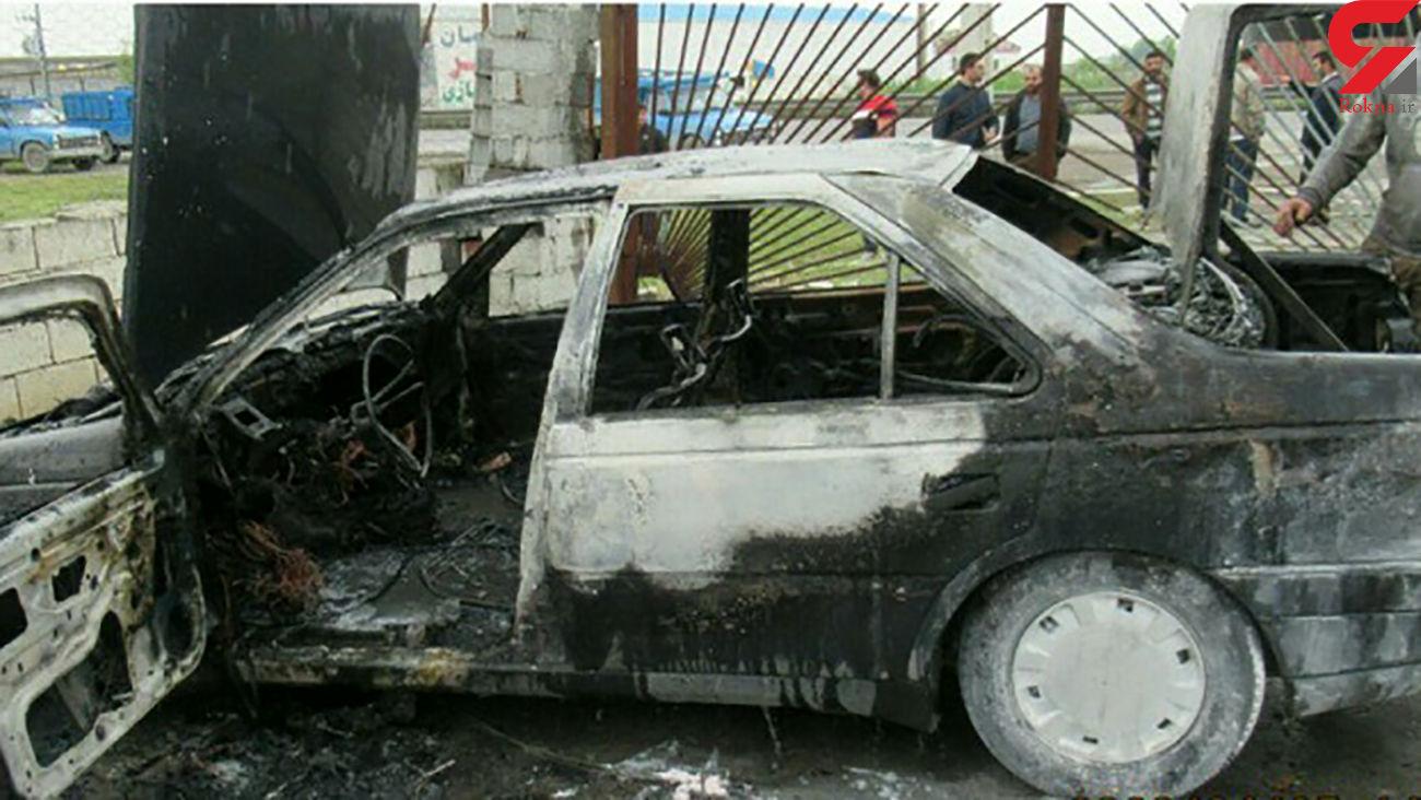حادثه دلخراش برای زن و شوهر اصفهانی / زنده زنده در آتش سوختند
