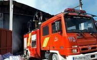 واحد تولید لوازم پزشکی دیباج در آتش سوخت