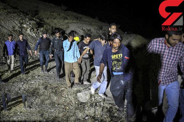 پاتک شبانه پلیس به مخفیگاه معتادان و خرده فروشان پایتخت  +عکس