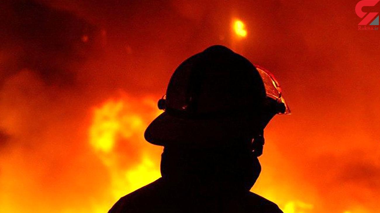 مهار آتش در جنگلهای سیریک
