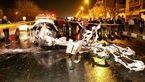 تصادف هولناک در مشهد / پژو متلاشی شد + عکس