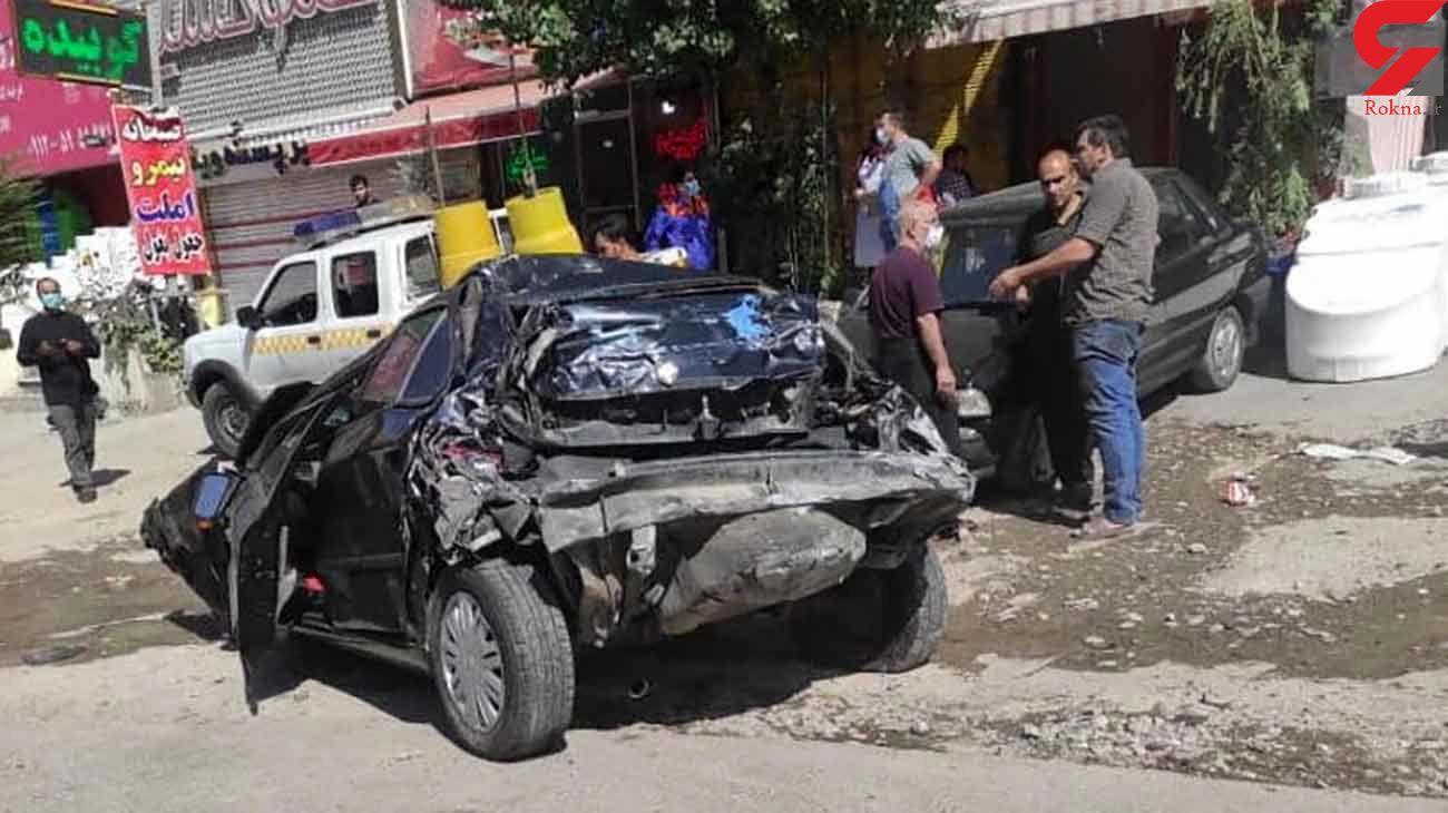 تریلی 13 خودرو را در پردیس له کرد / جزئیات تصادف مرگبار