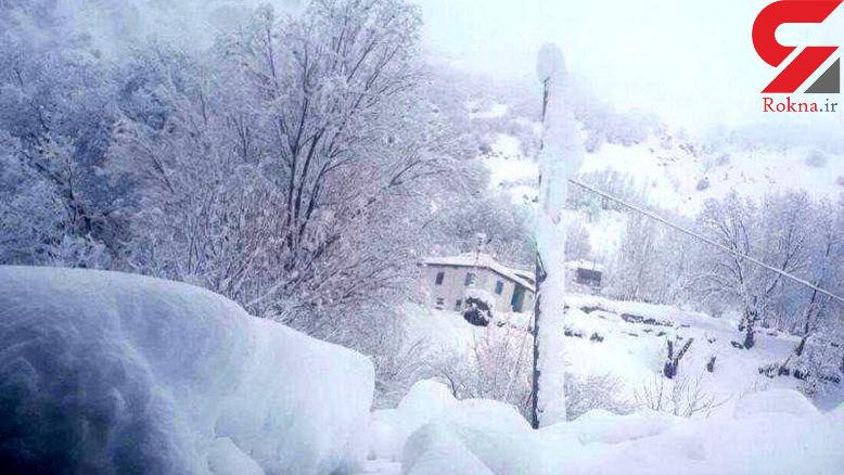 ارتفاع برف در گردنه های استان مرکزی به 70 سانتیمتر رسید