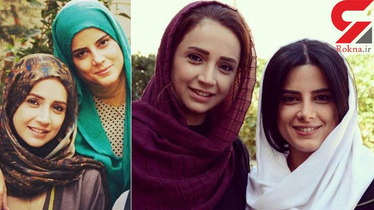 عکسی از چهره واقعی معصومه رحمتی بازیگر نقش حمیده در سریال هشت و نیم دقیقه