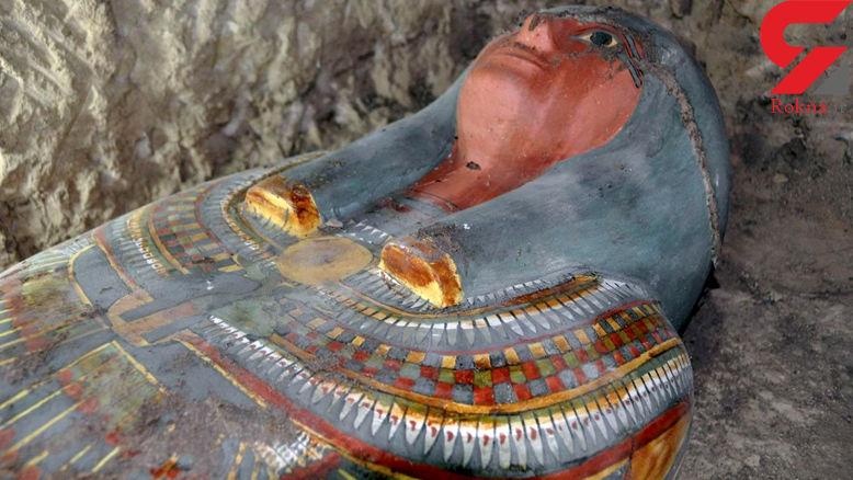 راز مومیایی 2500 ساله در دره پادشاهان مصر باستان+عکس