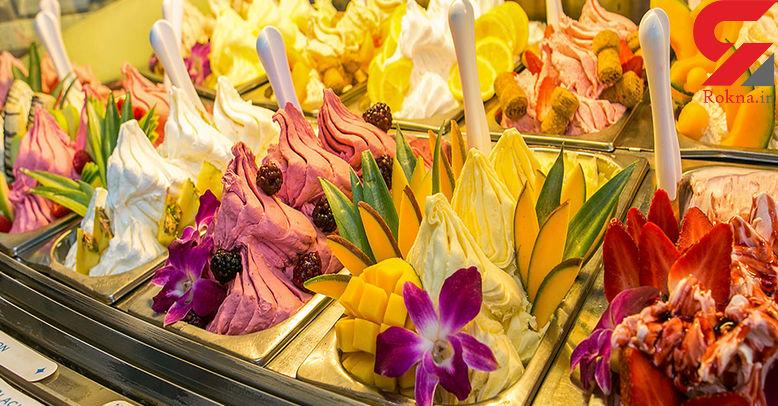 جلاتو میوهای یک دسر خنک برای روزهای گرم سال+دستور تهیه